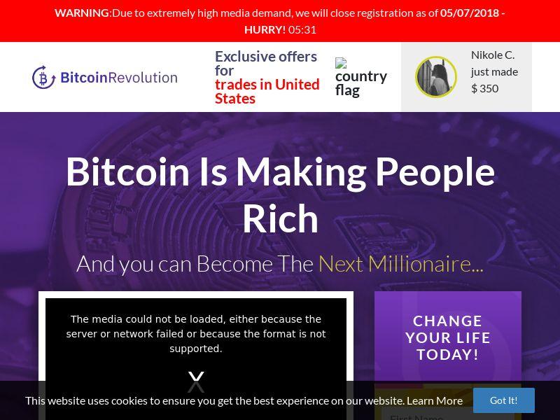 Bitcoin Revolution - French - Native desk - FR