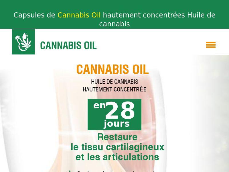 Cannabis Oil FR(joints)