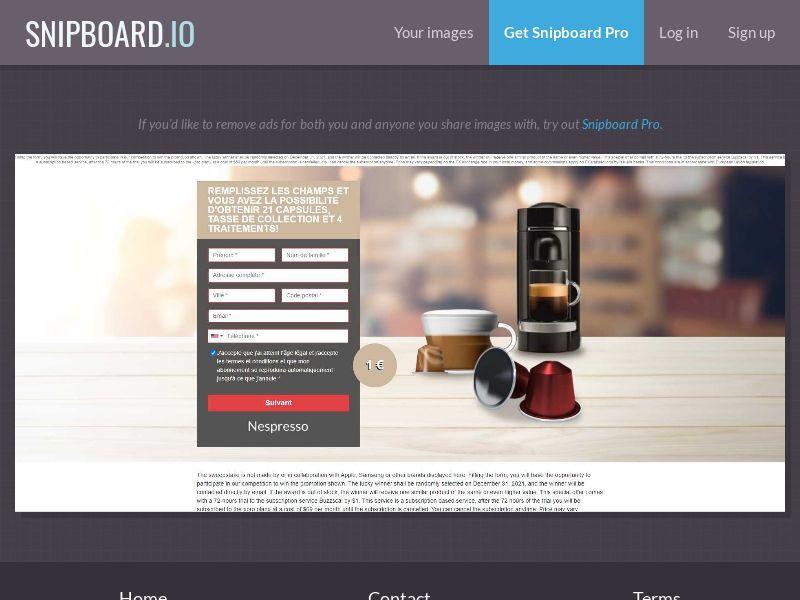 39677 - FR - OrangeViral - B - Win a Nespresso - CC submit