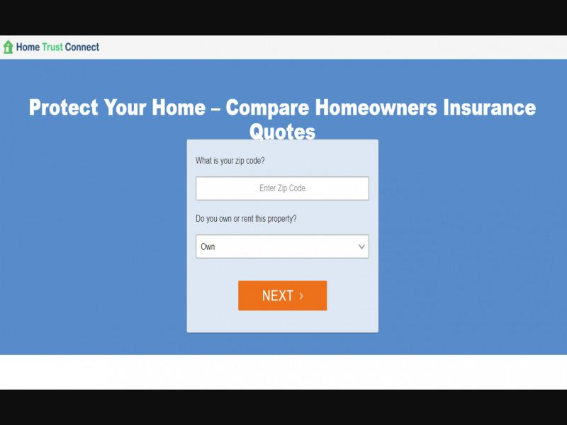 Sensitive: Home trust connect - Home Insurance - Schedule: Mon - Fri 9Am – 5Pm Est - Just Email