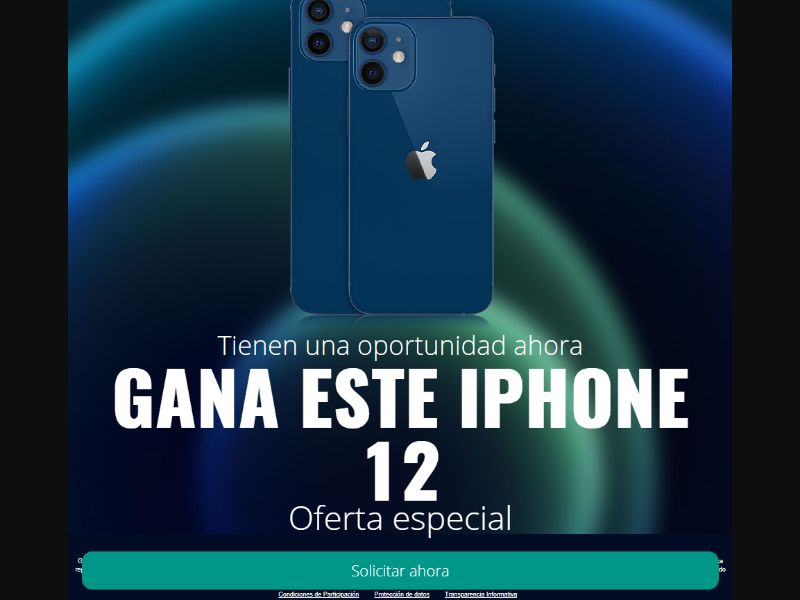 ES - Win Iphone 12 [ES] - SOI registration