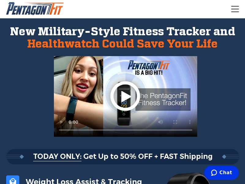 PentagonFit Watch
