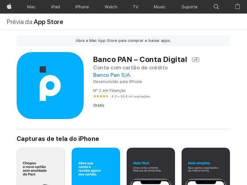 Banco Pan_BR_IOS_Non - Incent_CPA