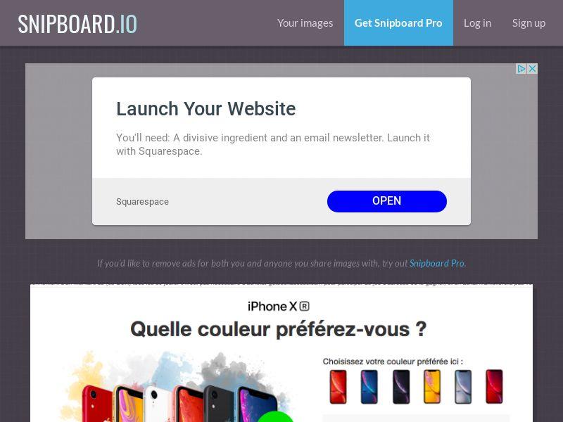 BigEntry - iPhone XR FR - CC Submit