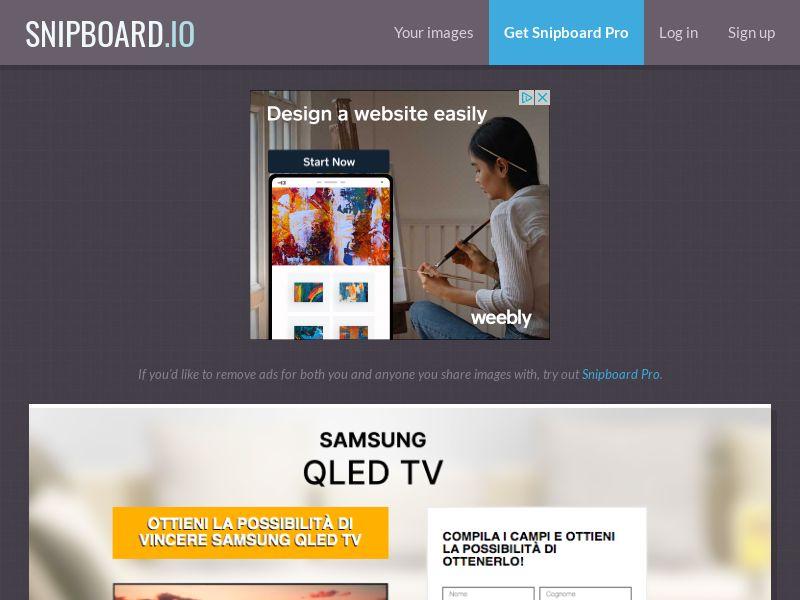 BigEntry - Samsung QLED TV v1 IT - CC Submit