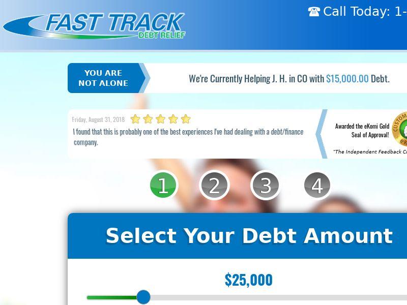 Fast Track Debt Relief US (WEB) Non Incent