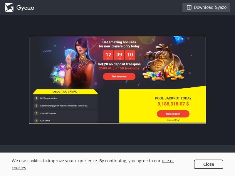 Joo Casino AU | CPA