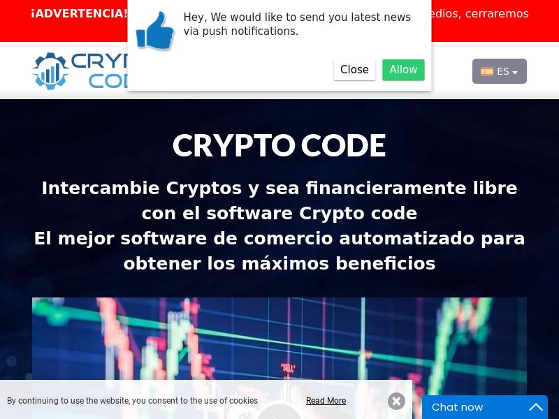 Crypto code Spanish 2248