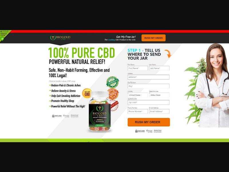 BioGold CBD Dietary Supplement - CBD - SS - [US]