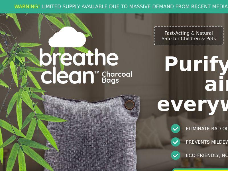 Breathe Clean Charcoal Bags LP01 (EN INTL)