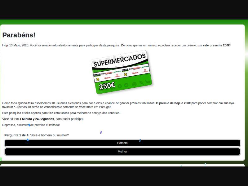 Gift voucher € 250 [DE] - SOI registration