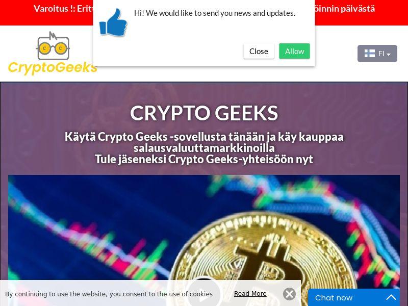 Crypto Geeks Finnish 4156