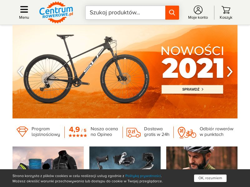Centrum rowerowe - PL (PL), [CPS], Sport & Hobby, Sell