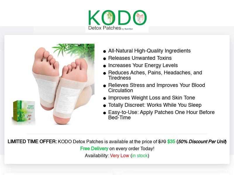 KODO Detox Patches (INTL) (CPS)