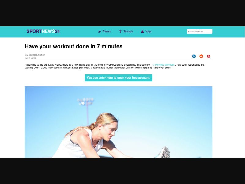 7 minutes workout - CC Submit - Tier1 - Well-being - Responsive