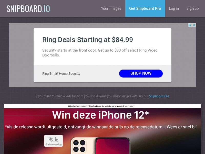 LeadsWinner - iPhone 12 NL - SOI