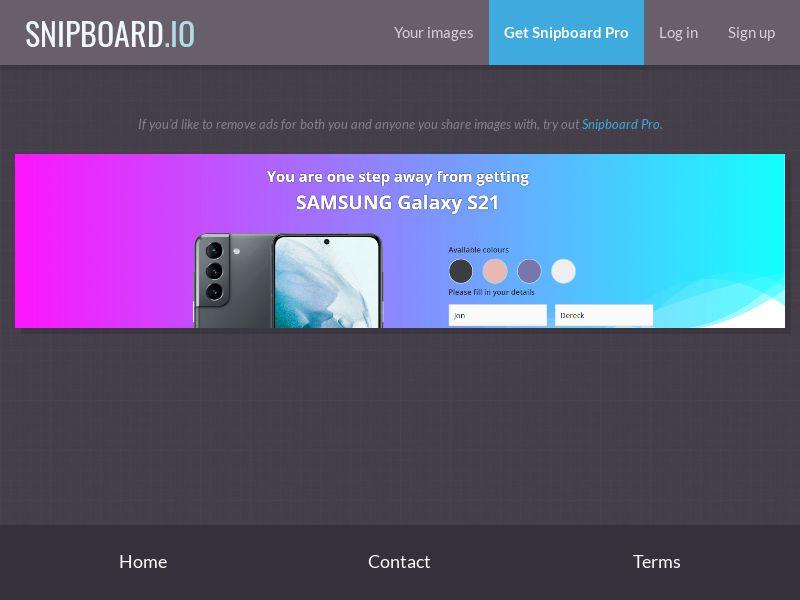 39875 - US - OrangeViral - B - Samsung S21 V5 - CC submit
