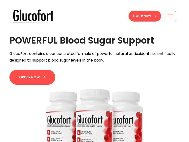 GlucoFort (INTL) (CPS) (Personal Approval)