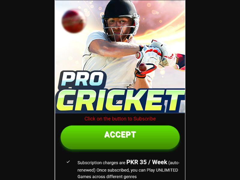 Pro Circket (PK)