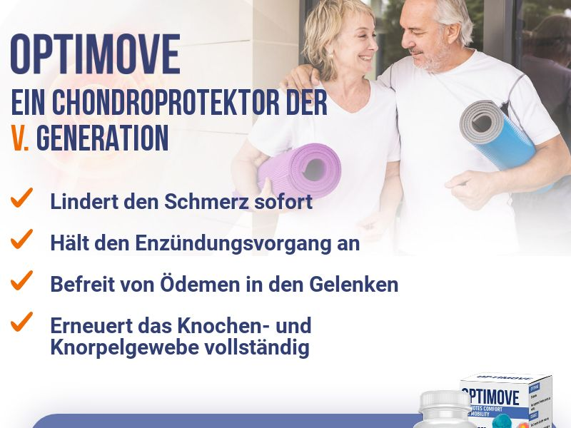 Optimove DE - arthritis product