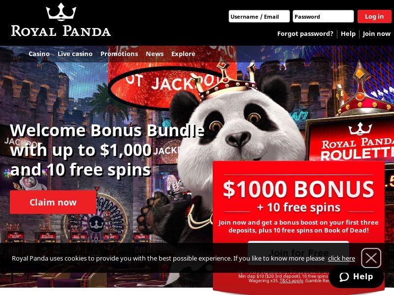 Royal Panda - Online Casino - Int'l