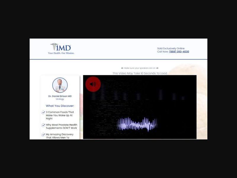1MD - ProstateMD - Prostate Health - VSL (US)