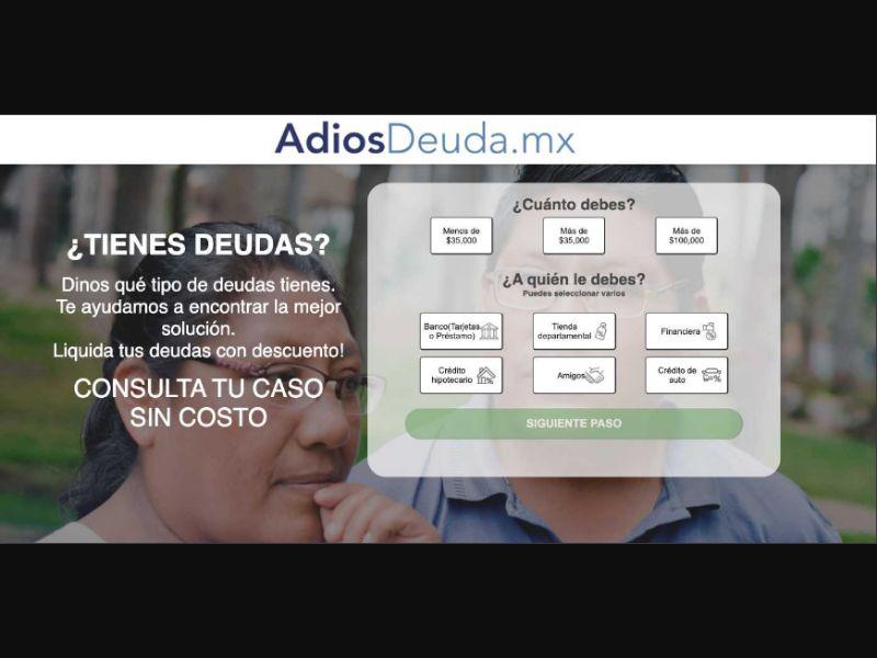 AdiosDeuda.MX SOI [MX] - SOI registration