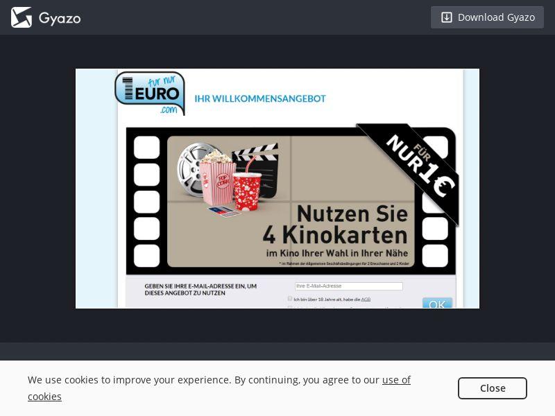 Furnur1euro Cinema (Cashback) DE   SOI CPL