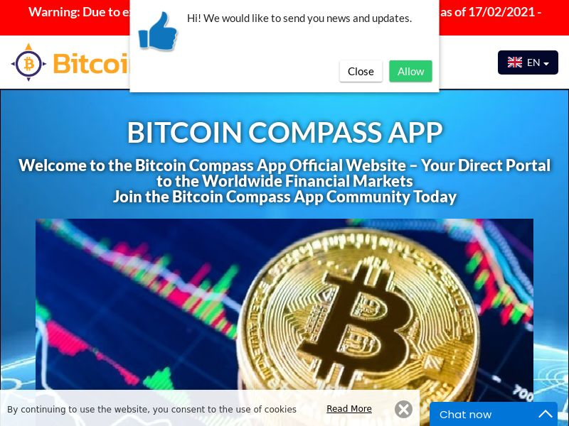 Bitcoin Compass App Italian 2570