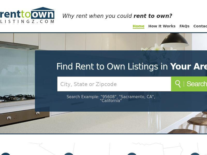 Rent to Own Listingz - Free Trial $1 - CPA - [US]