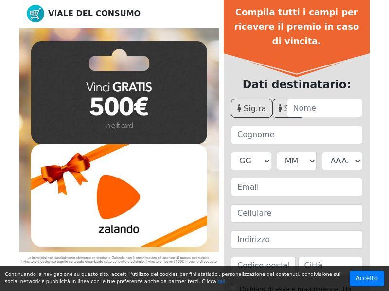 500€ per Zalando! IT