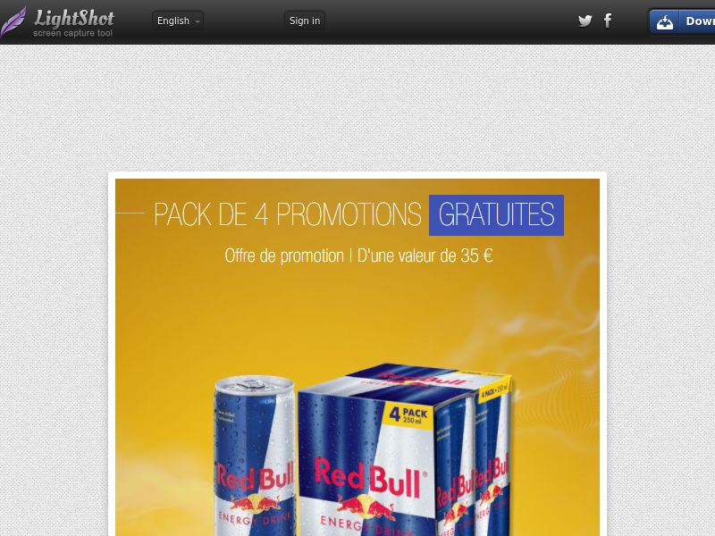Portal Leads - Red Bull 4 pack (FR) (CPL) (Personal Approval)
