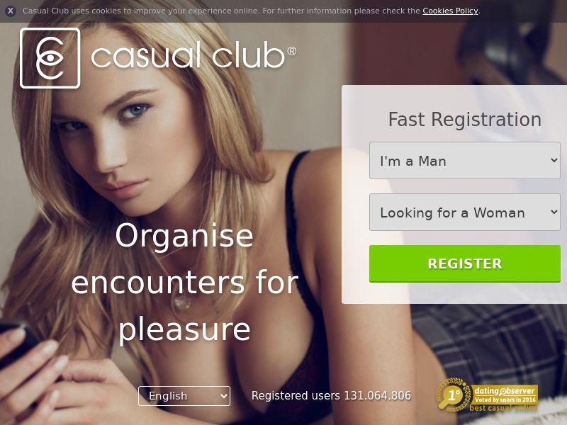 CASUAL CLUB (Italy) web 25+