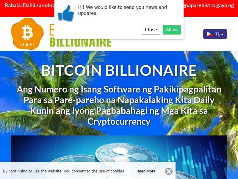 Bitcoin Billionaire Pro Filipino 3198