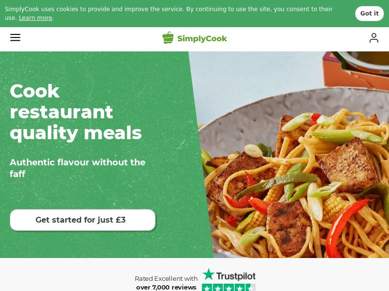 Simply Cook - Incent - UK
