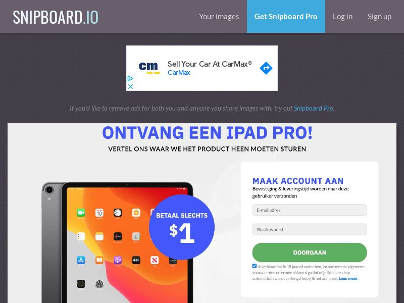 CoreSweeps - iPad Pro NO - CC Submit
