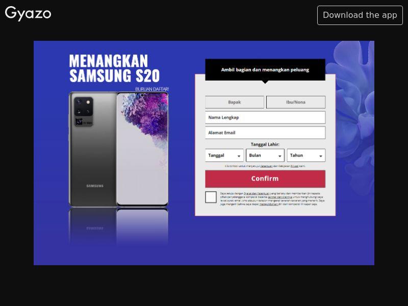Samsung S20 (ID)