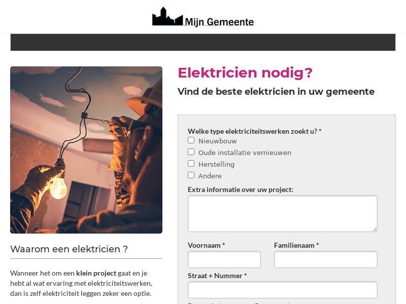 (12996) [EMAIL] Electricity works - BE(NL) - CPL