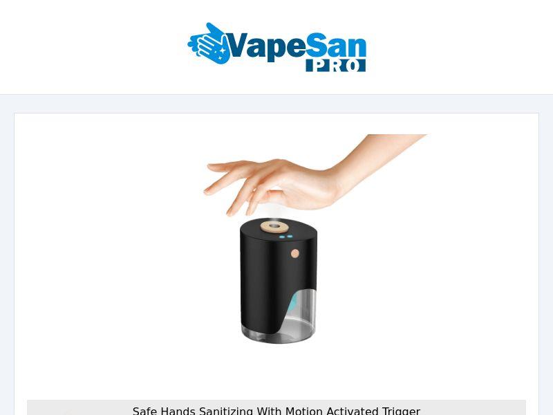 VapeSan Pro - Hands Sanitizing - CPA - [INTERNATIONAL]