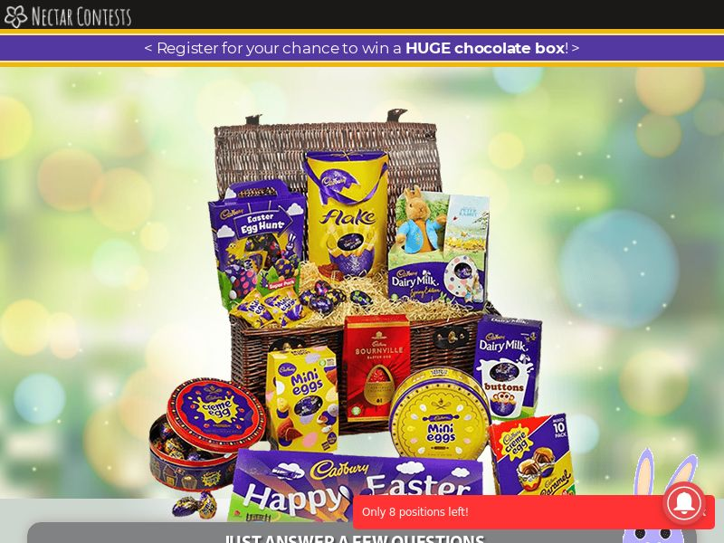 NectarContests - Easter Chocolate Hamper CPL [UK]