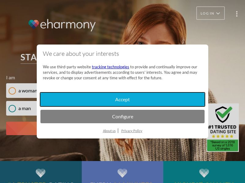 eHarmony - UK (GB), [CPS], For Adult, Dating, Sell, women, date, sex, sexy, tinder, flirt