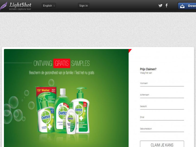 Leadswinner - Dettol Pack (NL) (CPL) (Personal Approval)