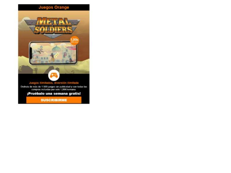 MetalSoldiers V3 Orange