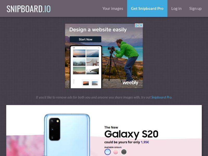 G33K - Samsung Galaxy S20 FI - CC Submit
