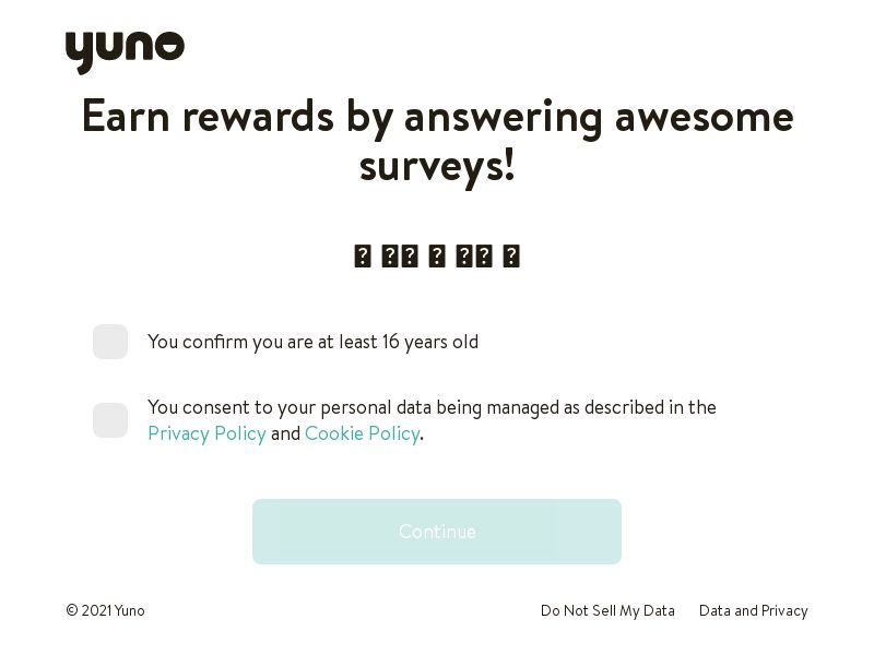 Yuno Surveys (Long) - AU