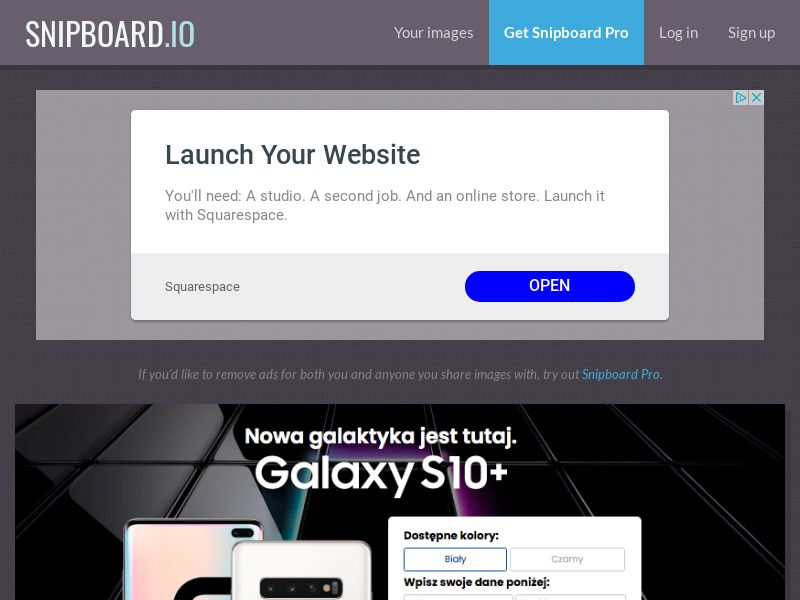 BigEntry - Samsung Galaxy S10 v5 PL - CC Submit