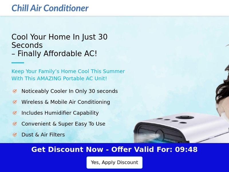 Chill Air Conditioner - Mini Portable AC - CPA - [US]