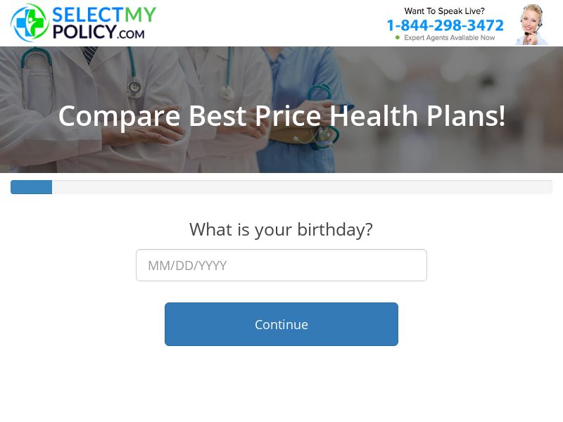 Select My Policy - Health Insurance [US] (Email,Native,Social,Banner,Push) - CPL