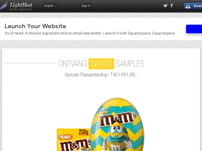 Portal Leads - M&M Easter (BENL) (CPL) (Incent) (Personal Approval)