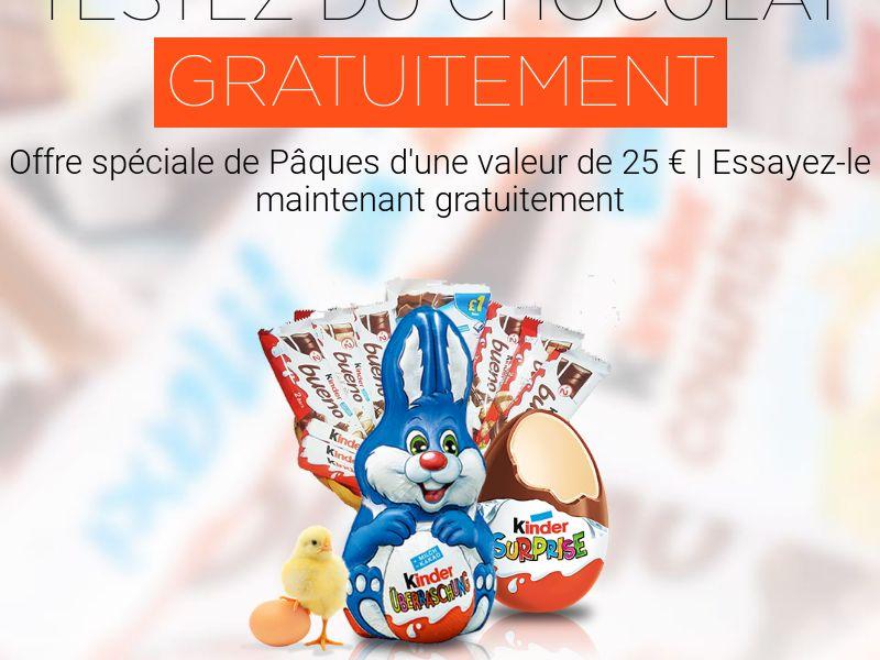 Kinder Easter Voucher Sweeps - FR